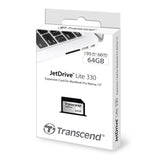Transcend Jetdrive Lite 330 64GB Add-in Memory Card for MacBook Pro Retina 13-inch (Late 2012 - Early 2015)