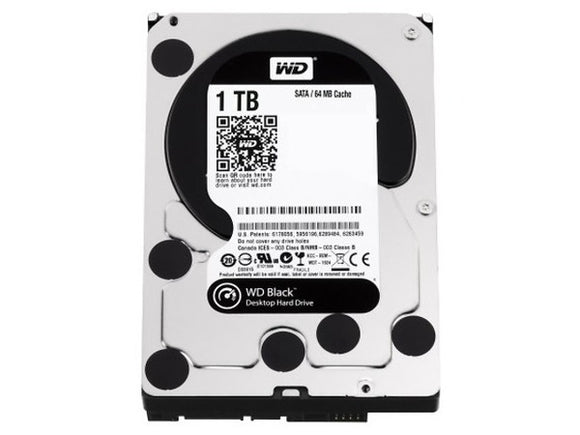 WD Black 1TB 7200RPM 64MB Cache SATA 6.0Gb/s 3.5