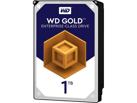 WD Gold 1TB 7200RPM 128MB Cache SATA 6.0Gb/s 3.5