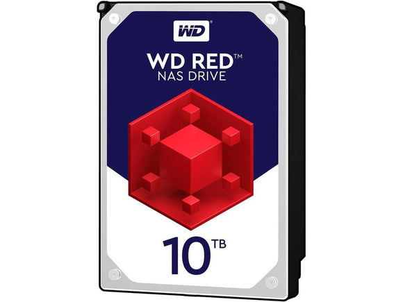 WD Red 10TB 5400RPM 128MB Cache SATA 6.0Gb/s 3.5