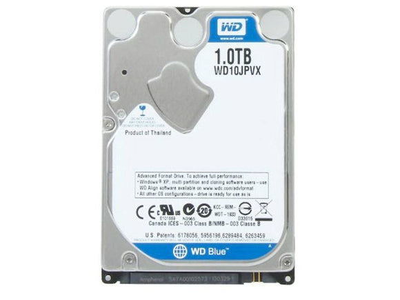 WD Blue 1TB 5400 RPM 8MB Cache SATA 6.0Gb/s 2.5