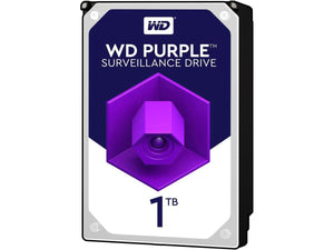 "WD Purple 1TB 5400RPM 64MB Cache SATA 6.0Gb/s 3.5"" Surveillance Internal Hard Drive"