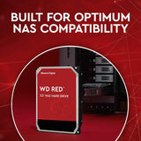 "WD Red 2TB 5400RPM 256MB Cache SATA 6.0Gb/s 3.5"" NAS Internal Hard Drive"