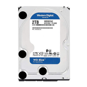 "WD Blue 2TB 5400RPM 256MB Cache SATA 6.0Gb/s 3.5"" Desktop Internal Hard Drive"