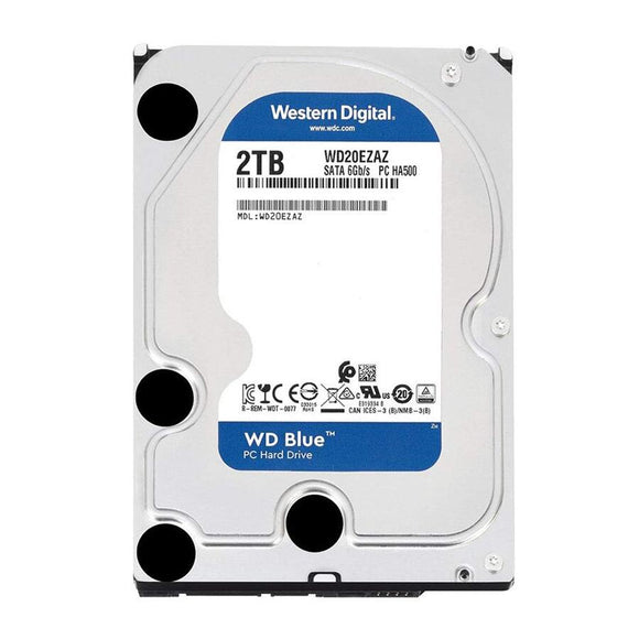 WD Blue 2TB 5400RPM 256MB Cache SATA 6.0Gb/s 3.5