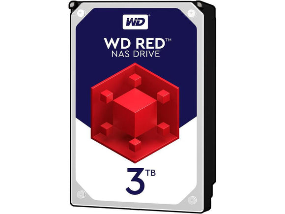 WD Red 3TB 5400RPM 64MB Cache SATA 6.0Gb/s 3.5