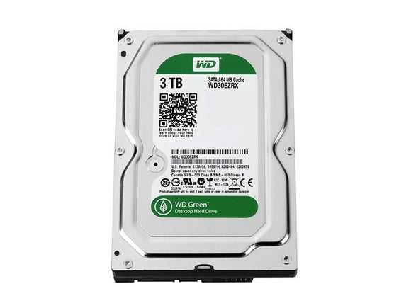 Western Digital Green 3TB 3.5 inch Desktop Hard Drive