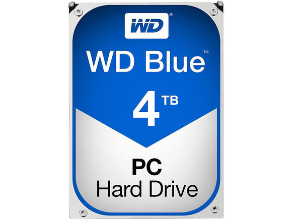WD Blue 4TB 5400RPM 64MB Cache SATA 6.0Gb/s 3.5