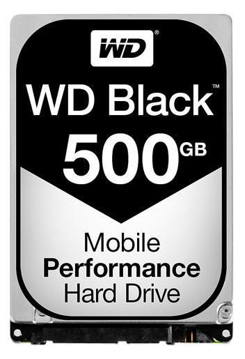 WD Black 500GB 7200RPM 16MB Cache SATA 6.0Gb/s 2.5