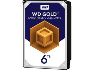 "WD Gold 6TB 7200RPM 128MB Cache SATA 6.0Gb/s 3.5"" Data Center Internal Hard Drive"