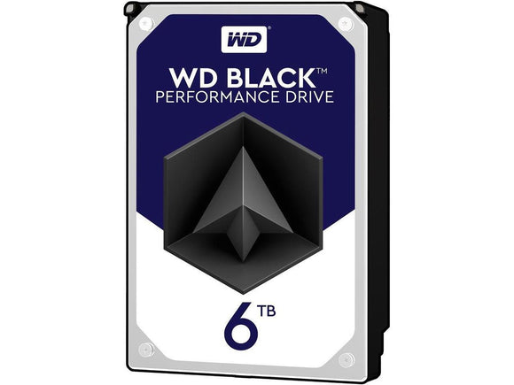 WD Black 6TB 7200RPM 128MB Cache SATA 6.0Gb/s 3.5