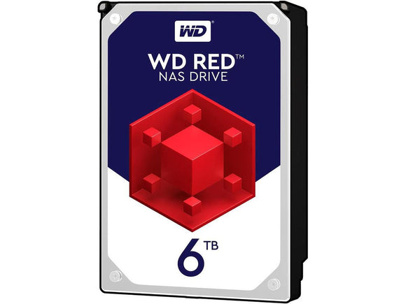 WD Red 6TB 5400RPM 64MB Cache SATA 6.0Gb/s 3.5