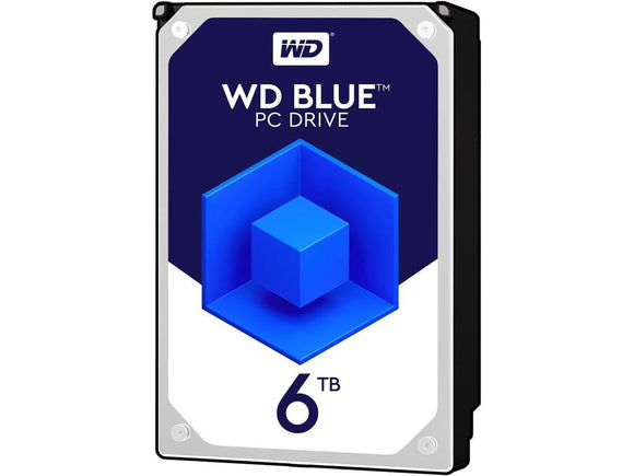 WD Blue 6TB 5400RPM 64MB Cache SATA 6.0Gb/s 3.5