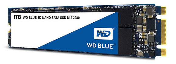 WD Blue 1TB M.2 80mm (2280) SATA III Internal SSD