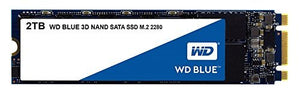 WD Blue 2TB M.2 80mm (2280) SATA III Internal SSD