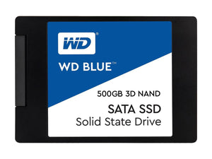 "WD Blue 500GB 2.5"" 7mm SATA III Internal SSD"
