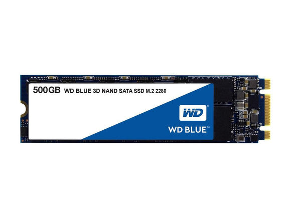 WD Blue 500GB M.2 80mm (2280) SATA III Internal SSD