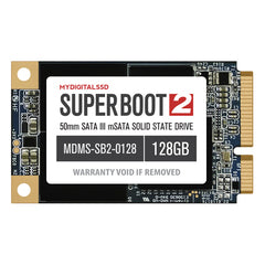 MyDigitalSSD 120GB (128GB) Super Boot 2 50mm mSATA Internal SSD