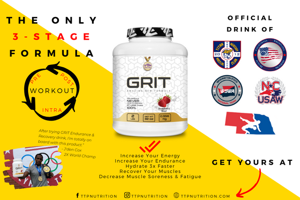 GRIT - Innovative 3-Stage Formula