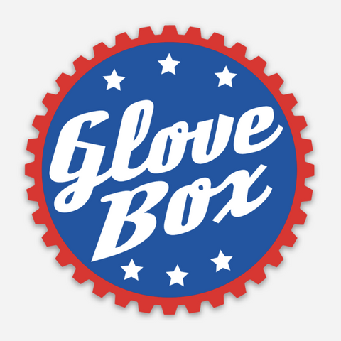 Sticker: Red White & Blue