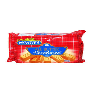 Mcvities All Butter Shortbread