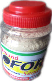 Ground Ofor Seed Spice