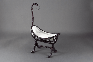 Mahogany Cradle -  - Dollhouse Alley
