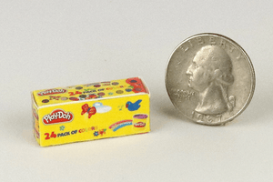 Mini Play-Doh Box