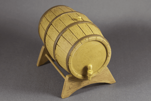 Large Wine Barrel -  - Dollhouse Alley