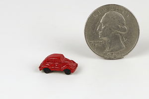 Red VW Beetle Toy