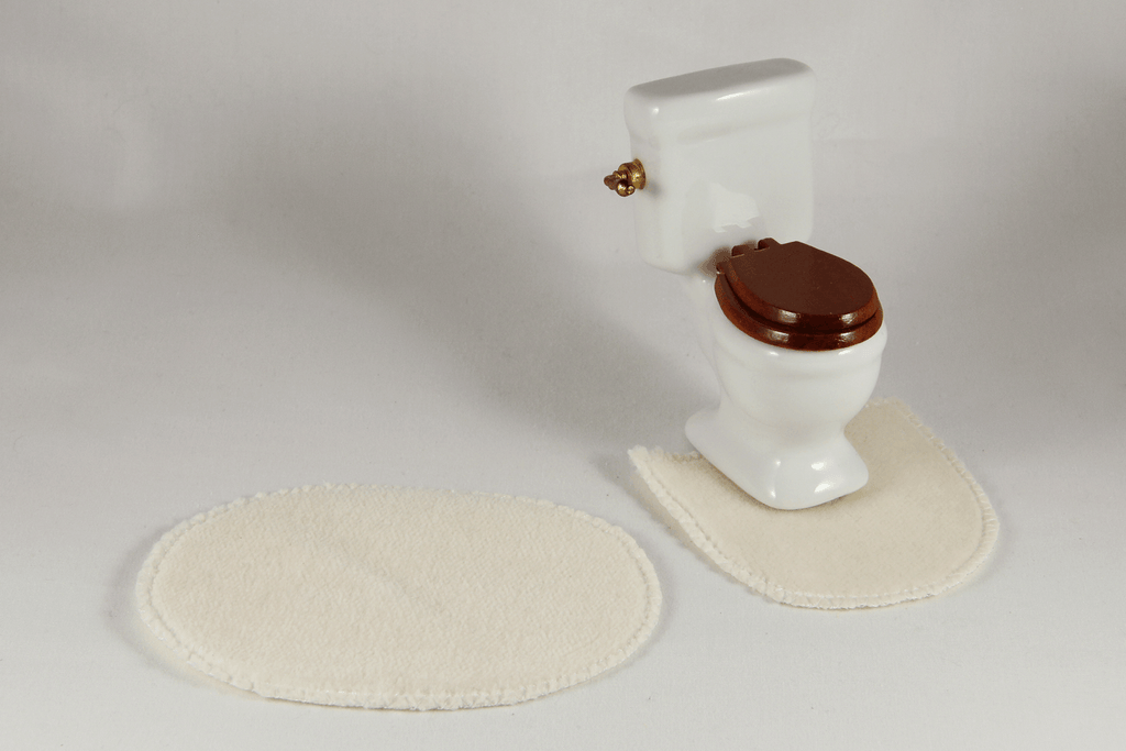 Bath Mat Sets (Various Colors) -  - Dollhouse Alley - 1