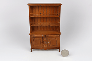 French Walnut Hutch