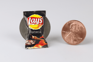 Bag of Lay's Barbecue Chips