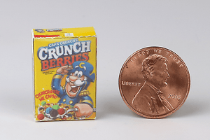 Box of Cap'n Crunch Berries Cereal