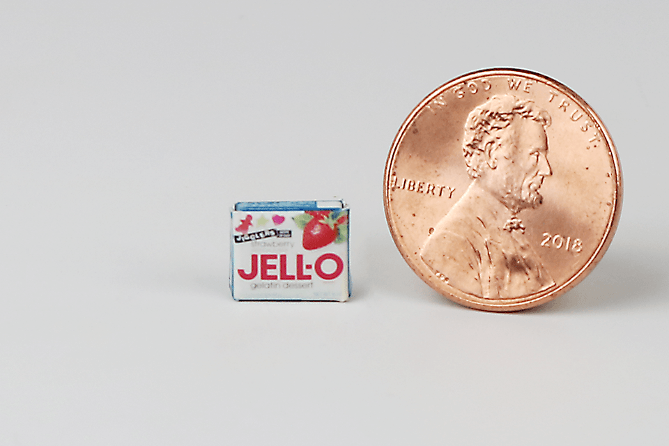 Box of Strawberry Jello