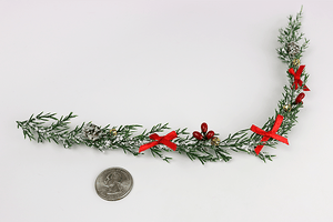 "Decorated Pine Garland (13"")"