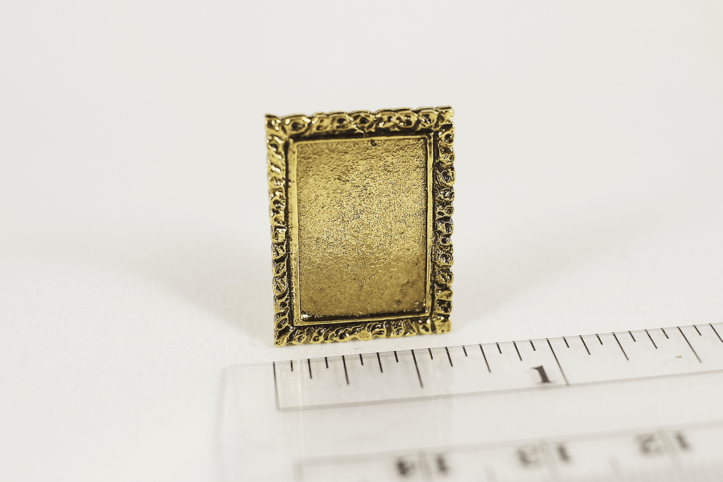 Single Gold Picture Frame -  - Dollhouse Alley - 2