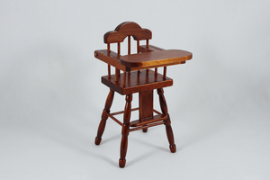 Walnut High Chair - 1