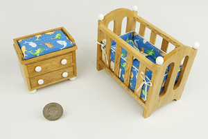 Swimming Sharks 2-Piece Nursery Set