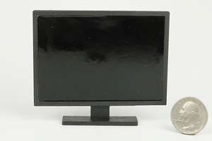 "50"" Television on Stand (1"" Scale)"