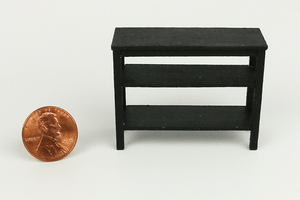 Half Scale Console Table in Black