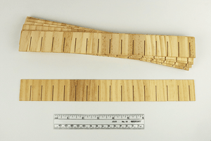 "12"" Wooden Shingle Strips"