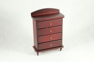 Tall Mahogany Chest of Drawers - 1