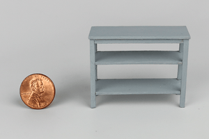 Half Scale Console Table in Gray