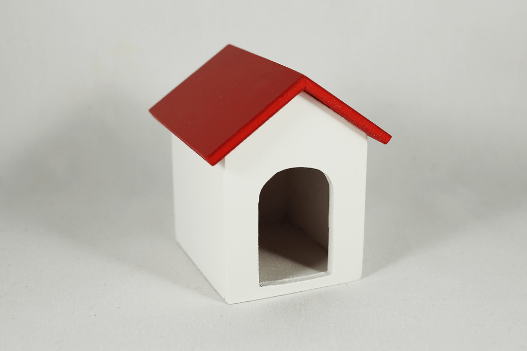 Dog House (Varying Colors) - Red - Dollhouse Alley - 1