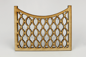 Decorative Fencing (4-Piece Set)