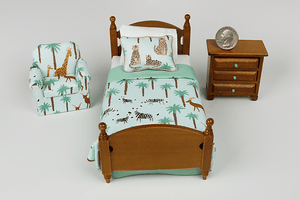Savanna Animals 3-Piece Bedroom Set