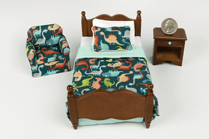 So Many Dinos 3-Piece Bedroom Set