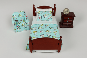 Soaring Sailboats 3-Piece Bedroom Set