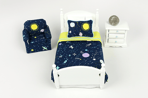 Solar System Print 3-Piece Bedroom Set